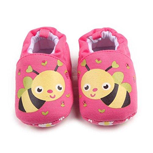 Chaussures bébé,Xinan Chaussures Garçon Fille Cuir Souple Chaussures premiers pas 0-12Mois