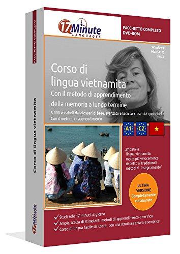 Imparare il vietnamita (A1-C2): Pacchetto completo della lingua vietnamita. Software per Windows e Linux. Corso base + corso avanzato + glossario tecnico di vietnamita uniti in un unico corso