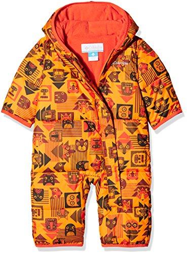 Columbia - Snuggly Bunny Bunting - Combinaison de ski - Mixte enfant - Orange (Solarize Critter Blocks) - Taille: 6/12 mois