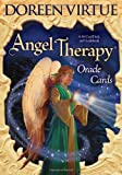 Angel Therapy Oracle Cards: A 44-Card Deck and Guidebook by Virtue, Doreen (10/15/2008)