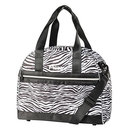 Bowling Bag FREDDY Ultraleggera In Tessuto Tecnico Stampa All-Over Con Con Fondo Rinforzato Zebra El Pago De Visa Envío Libre BLN2kg