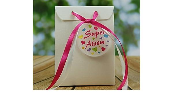 Id/ée de Cadeau Original Fin dAnn/ée Scolaire no/ël remerciement BtEcG Boite de Chocolat garnie Merci Ma/îtresse Vive les Vacances/ L/école est finie/