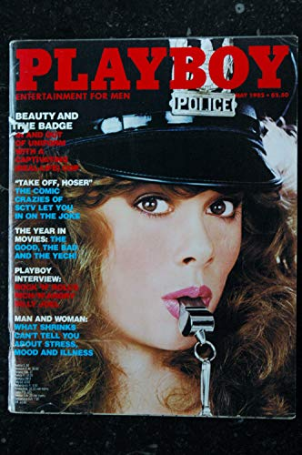 PLAYBOY US 1982 05 MAY BEAUTY AND THE BADGE BILLY JOEL RICH'N'ROLL'S KYM MALIN
