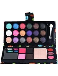 Wuayi 26Couleurs Palette de fard à paupières Blush Rouge à lèvres Combinaison plate Maquillage kit