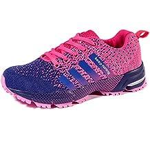 Wealsex Zapatos Para Correr En Montaña Asfalto Aire Libre Deportes Zapatillas De Running Para Mujer