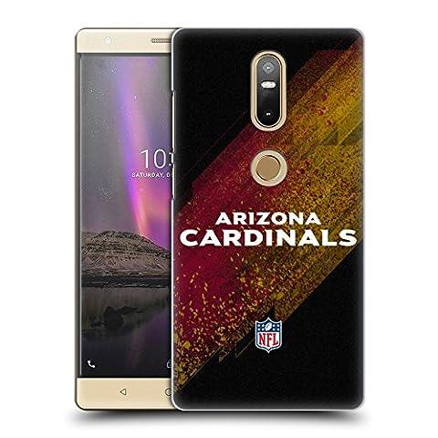 Officiel NFL Tache Arizona Cardinals Logo Étui Coque D'Arrière Rigide Pour Lenovo Phab2 Plus