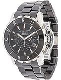 Cerruti Herren Armbanduhr Keramik Schwarz CRA078Z221H