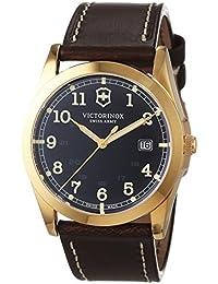 Victorinox Swiss Army Herren-Armbanduhr Analog Quarz Leder 241645