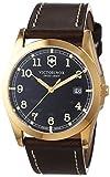 Victorinox Swiss Army 241645 - Reloj para hombres, correa de cuero color marrón