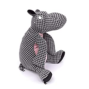 Sigikid Beasts 39163 Hippo Chonder Beasts - Toalla (33 x 30 x 25 cm), Color Gris