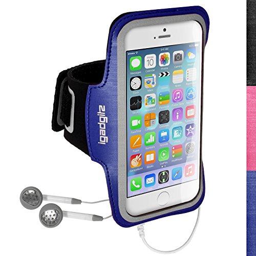 iGadgitz U3158Stirnband-Arme Sport für Apple iPhone 6& 6S 4.7Armband-Schwarz