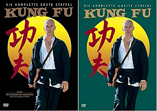 Kung Fu Staffel 1+2 / DVD Set