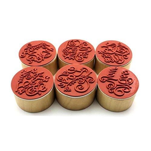 vabneerr-6-piezas-diy-sellos-estampado-redondos-de-goma-y-madera-rubber-wood-stamp-para-scrapbooking
