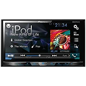 PIONEER AVH-X4700BS 7'' Double-DIN DVD Receiver with Motorized Display, Bluetooth(R), Siri(R) Eyes Free, MIXTRAX(R), SiriusXM(R) Ready, Android(TM) Music Support And Pandora(R) Internet Radio
