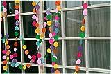 Raylinedo® 9X Multi Color Paper Garland Wedding Birthday Anniversary Party Christmas Girls Room Decoration