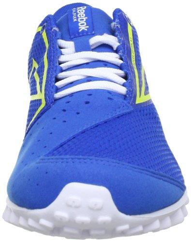 Reebok REALFLEX OPTIMAL 4.0 J96904 Unisex-Kinder Sneaker Blau (BLUE SPORT/WHITE/SOLAR GREEN)