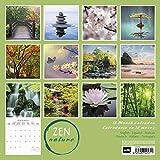 ERIK - Calendario de pared 2020 Zen Nature, 30 x 30 cm