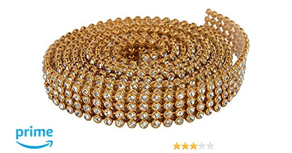 e97530455367 Am Stone Lace 4-Line Full Length 1.25 Meters For Bangles Jewellery  Decoration  Amazon.in  Home   Kitchen