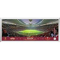 UEFA Europa League Final, panoramica dietro porta