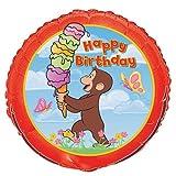 "18"" Curious George Birthday Balloon (1 ct)"
