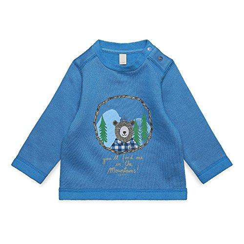 ESPRIT KIDS Baby-Jungen RK15042 Sweatshirt, Blau (Aqua 466), 80 Aqua-sweatshirt