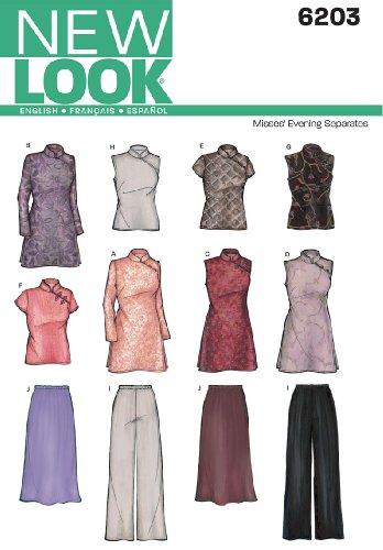 new-look-nl6203-patron-de-couture-haut-de-soiree-tunique-jupe-pantalon-22-x-15-cm