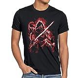 A.N.T. Knight of Ren Herren T-Shirt Kylo letzten Jedi Ritter Ben Solo, Größe:XXL
