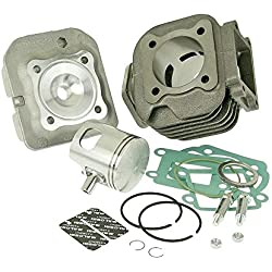 Kit cylindre 70 cc MALOSSI Sport 10mm pour MBK Booster Spirit 50cc, Track, Stunt, Naked, YAMAHA BWs
