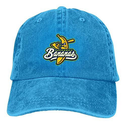 Trucker Cap Savannah Bananas Strapazierfähige Baseballkappe, Verstellbarer Papa Hut schwarz - Savannah Cap