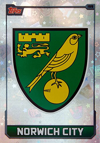 MATCH ATTAX 2015 2016   NORWICH CITY CLUB BADGE   Number 199
