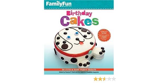 Awesome Familyfun Birthday Cakes Amazon Co Uk Edited By Deanna F Cook Funny Birthday Cards Online Bapapcheapnameinfo