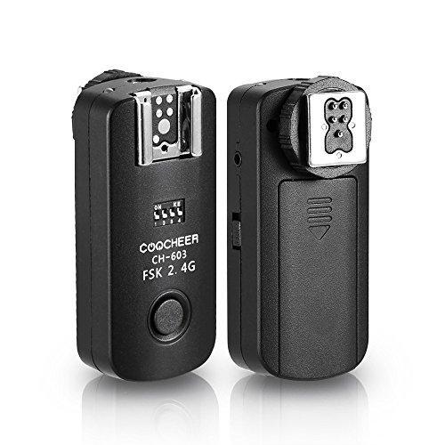 SAILNOVO FSK-16 RF603CII 2.4GHz Funkauslöser Blitzauslöser Auslöser für Alle Canon DSLR Kamera