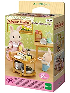 Sylvanian Families Kitchen Cookware Set by Epoch
