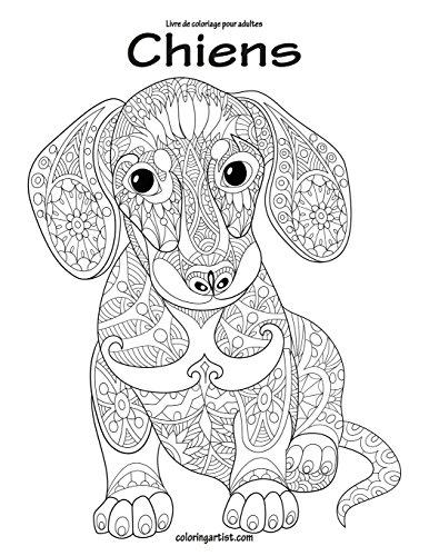 Livre de coloriage pour adultes Chiens 1 & 2 par Nick nick.snels@telenet.be Snels
