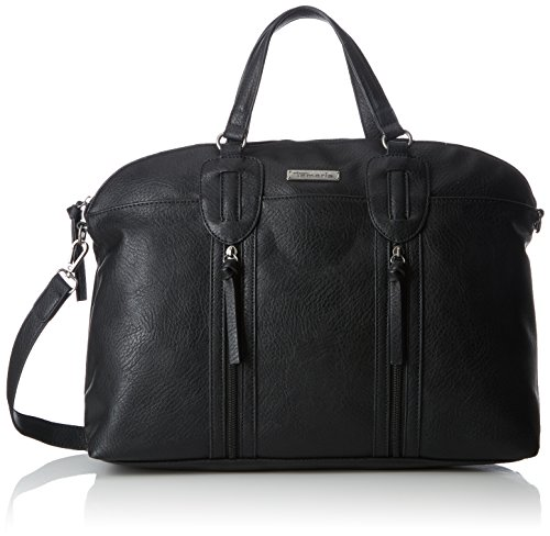 Tamaris Damen Patty Business Bag Tasche, Schwarz (Black), 12,5x30,5x39 cm