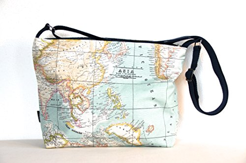 large-cross-body-zip-top-bag-in-retro-old-map-print-teflon-coated-showerproof-fabric-lined-with-upcy