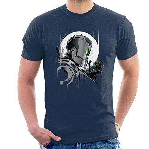 Iron Giant My Giant Friend Men's T-Shirt