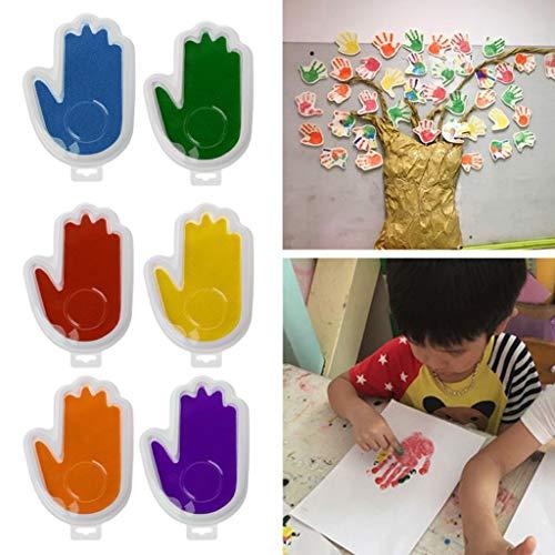 bdruck ,Baby Safe Print-Stempelkissen Ohne Fußabdruck-Handabdruck-Kit ()