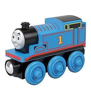 Thomas and Friends Tren de Juguete Thomas de Madera, Juguetes para Niños +2 Años (Mattel GGG29)