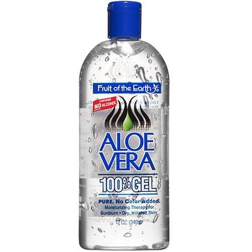 Fruit Of The Earth 100% Aloe Vera Gel 355 ml (After Sun) - Fruit Gel