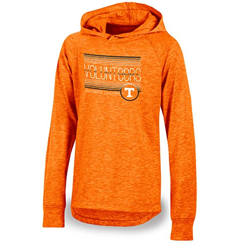 NCAA Champion Youth Girl 's Pride Lange Ärmel Pullover Hoodie, Jugendliche Mädchen, NCAA Champion Youth Girl's Pride Long Sleeve Pullover Hoodie, Orange Heather, XL-14/16 -