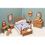 Maison de poupée, meubles Kit-chambre