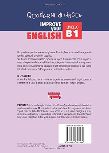 Zoom IMG-1 improve your english b1 con
