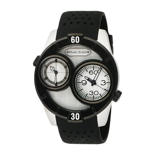 Marc Ecko The Maestro E16584G1 - Watch Men - Quartz - Analogue - Black Resin Strap Grey Dial