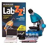 Levenhuk LabZZ M101 Mikroskop Azure\Azur