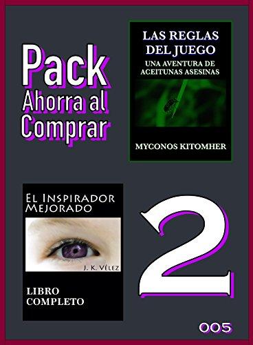 Pack Ahorra al Comprar 2 - 005: Las reglas del juego: Una aventura de aceitunas asesinas & El Inspirador Mejorado por Myconos Kitomher