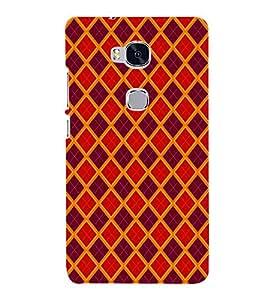 Fiobs Designer Phone Back Case Cover Huawei Honor 5X :: Huawei Honor X5 :: Huawei Honor GR5 ( Colorful Pattern Design )