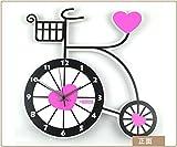 My Beauty Day Wanduhr Präzise für Wand Dekoration Kinder Fahrrad Kreative Stille Clock Mode Wohnzimmer Wand Cartoon Creative Wecker