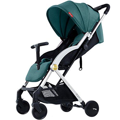 Baby carriage Mini Folding Kinderwagen 0-36 Monate Travel System Kleine Kinderwagen 360-Grad-Schwenker Vorderrad Flaschenregal Kleinkinderwagen (0-3 Jahre) D