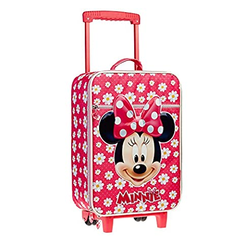 Karactermania Minnie Mouse Blumen Kind Gepäck, 46 cm, 26 Liter, Rosa
